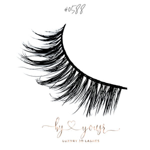 New LUXURY 3D Lashes By Yousr #0588