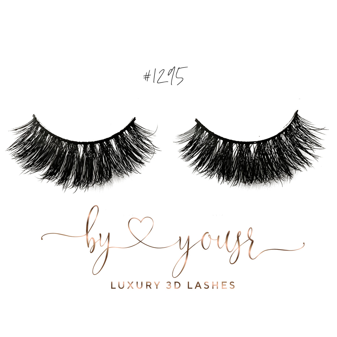 New LUXURY 3D Lashes By Yousr #1295