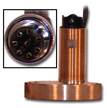 Furuno 525ST-MSC High Speed 8 pin Bronze Through Hull with Temperature