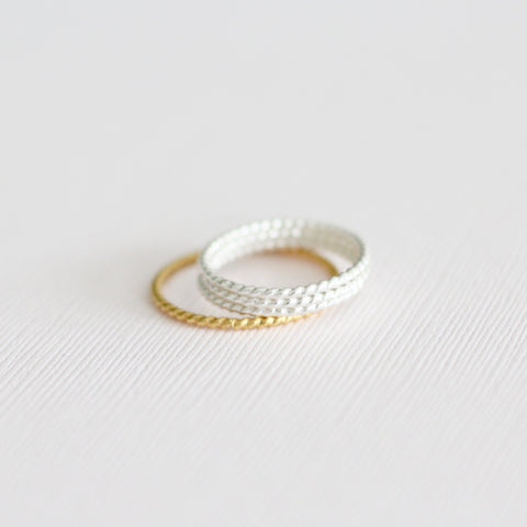 Heart Stackable Ring