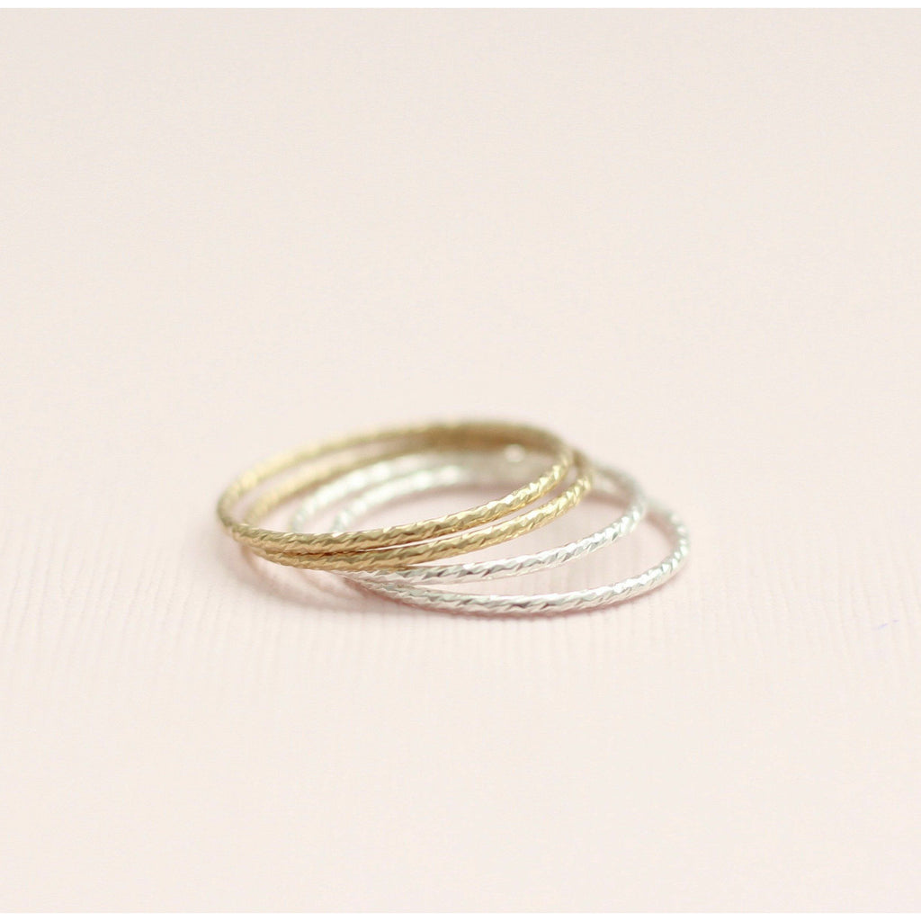 Sparkle Stackable Ring