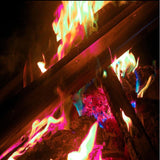 Colored Flames for Bonfire