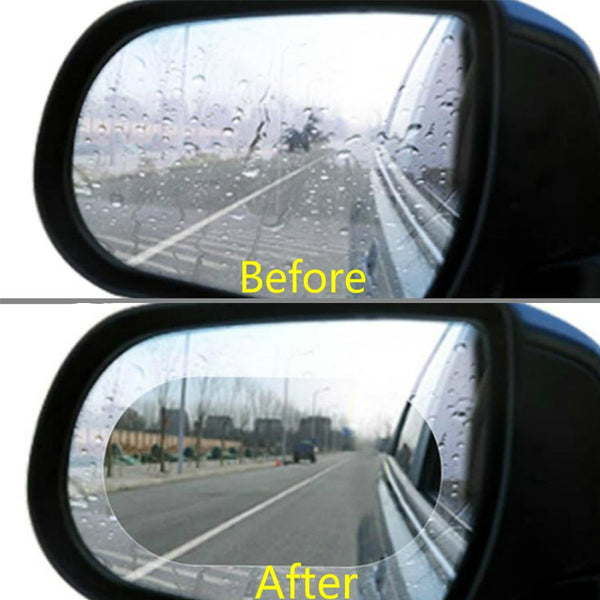 2PCS Rainproof and Anti-fog Car Rearview Mirror