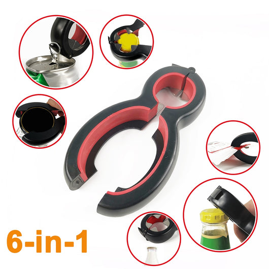 6-in-1 Multi Bottle Opener