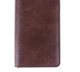 RFID Safe PU Leather Card Holder and Wallet