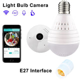 Bulb Wireless Network Home Security Camera