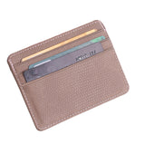 Leather Card Holder for Women