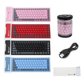 Foldable Waterproof Silicone Bluetooth Keyboard