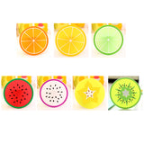 Fruit Shape Silicone Coasters