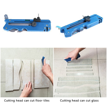 Multifunctional Glass and Tile Cutter