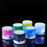 Portable LED Bluetooth Wireless Speakers
