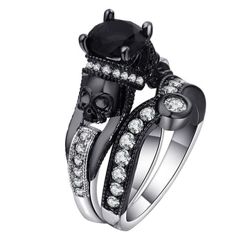 Punk Skeleton Ring