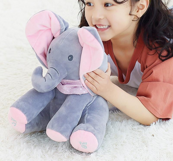 Plush Elephant Stuffed Animal