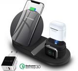 3 in 1 Smart Quick Charging Station Dock