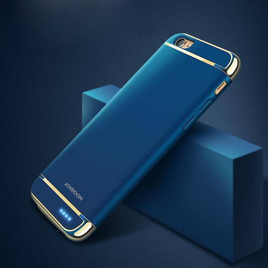iPhone 6 Plus Blue Battery Case - The World's Thinnest
