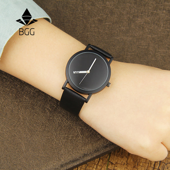 Minimalist Revolving Hour Watch