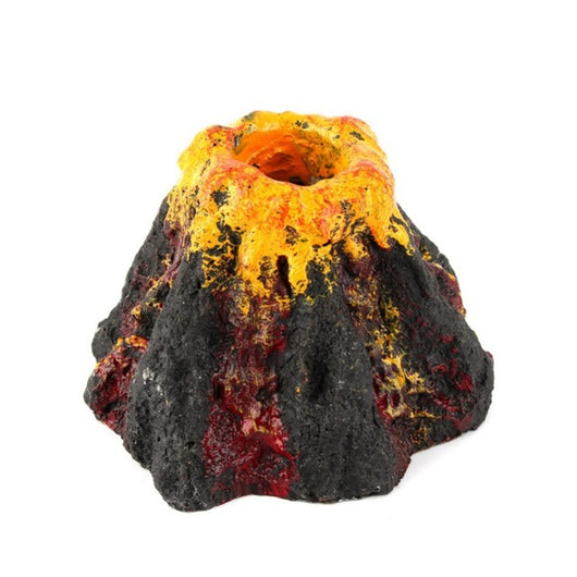 Ornament Volcano For Aquariums