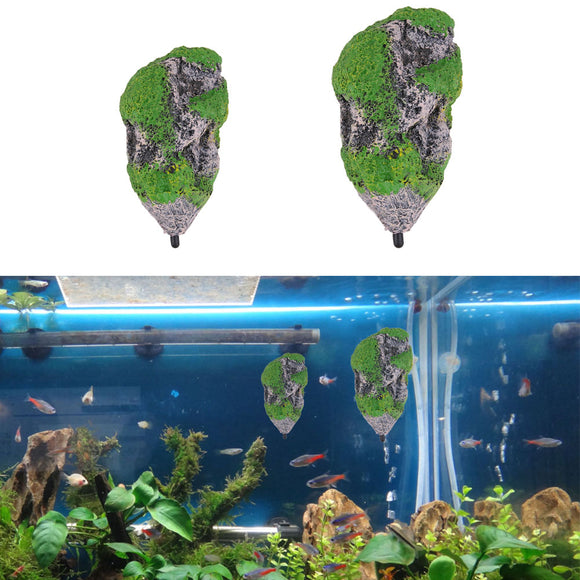 Suspended Stone for Aquariums