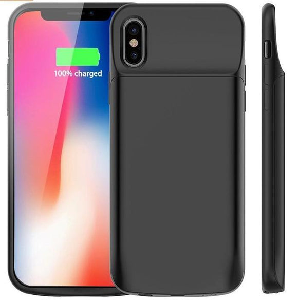 iPhone X Battery Case and Charger