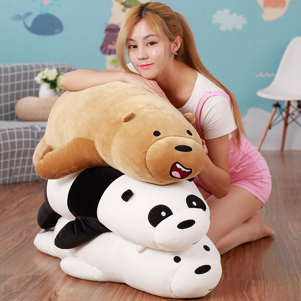 Large Grizzly Bear | Panda | White Bear | Plush Stuffed Toy  50cm / 20 Inches