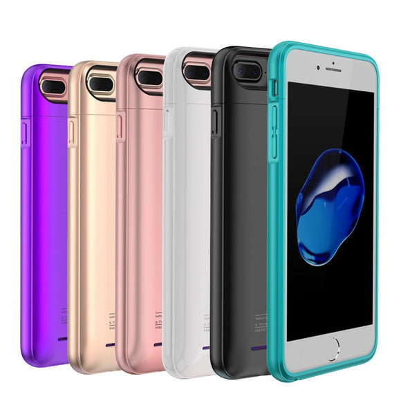iPhone 6, 6s, 7, 6+ and 7+ Ultra Thin Battery Case Charger