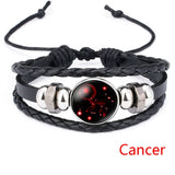 Night Sky Leather Bracelets