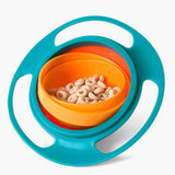 360 Rotate Spill Proof Bowl