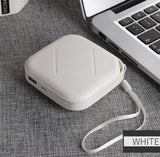 7800mAh Light-weight Mini Power Bank for iPhone Samsung Xiaomi Android