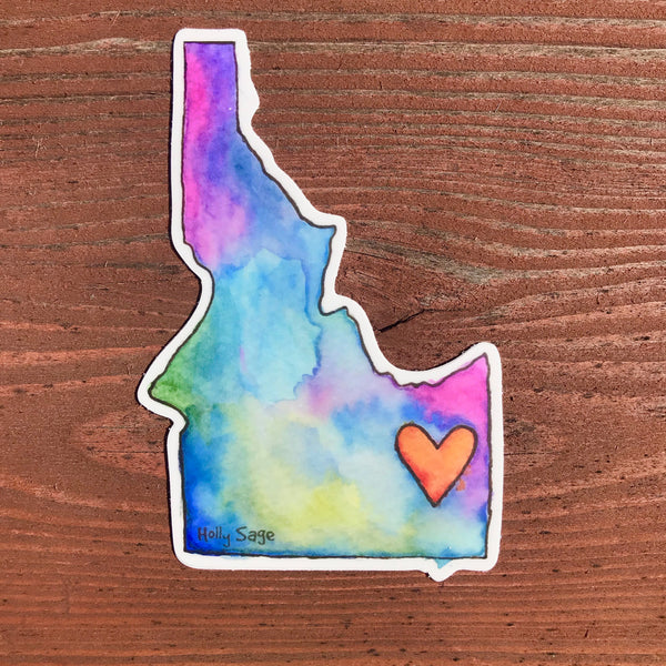 Idaho Love Sticker