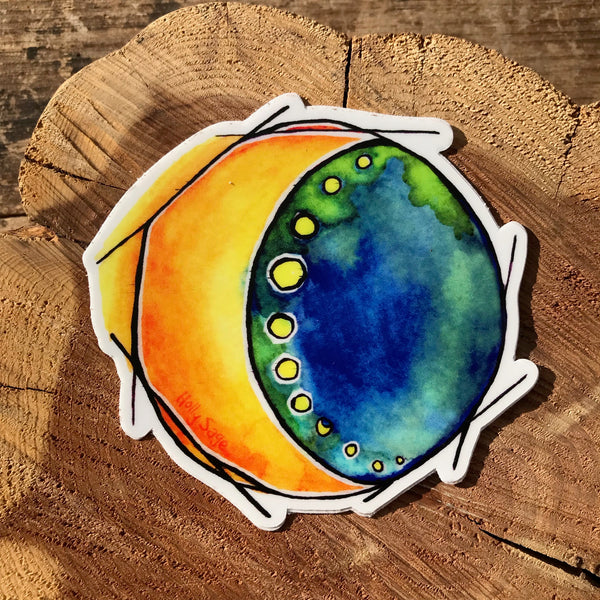 Moonlight Delight Sticker