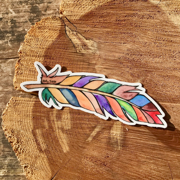 Magic Feather Sticker