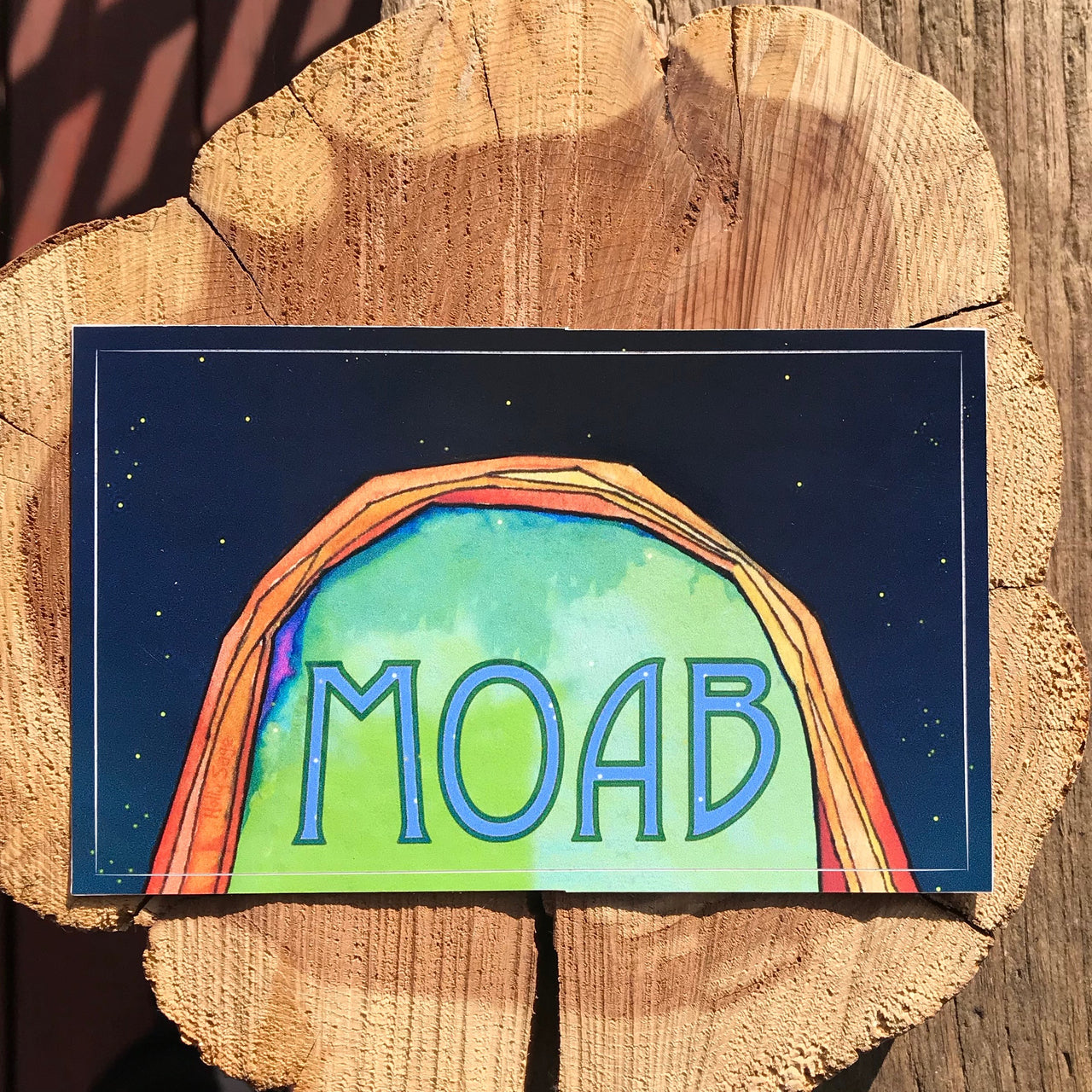 Moab Nights Sticker