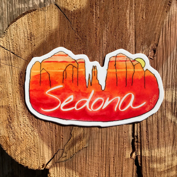 Sedona Sunset Sticker