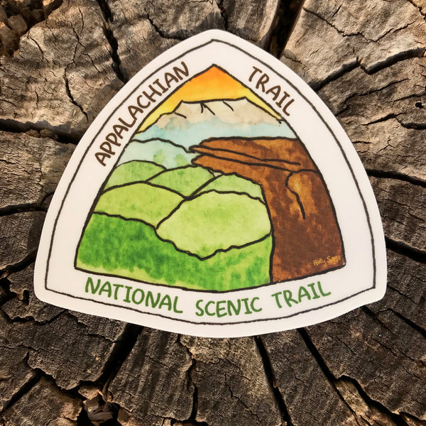 Appalachian Trail emblem sticker