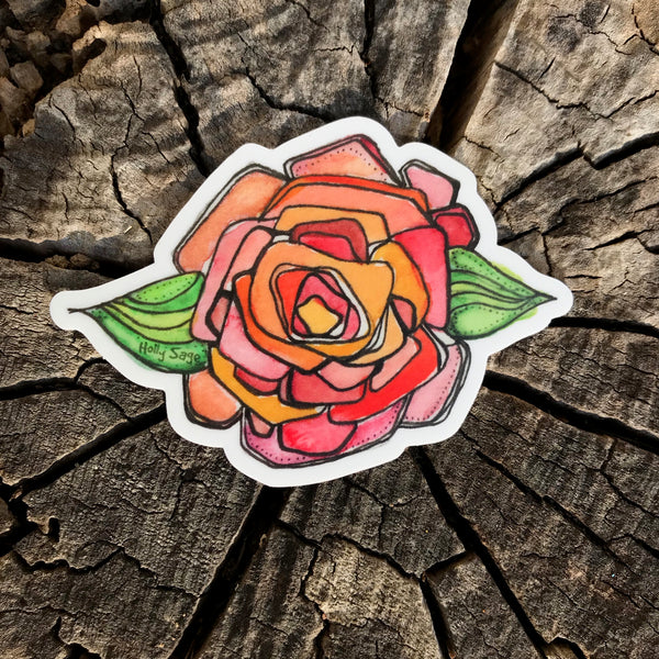 Sweet Rose Sticker