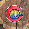 Colorful Colorado Sticker