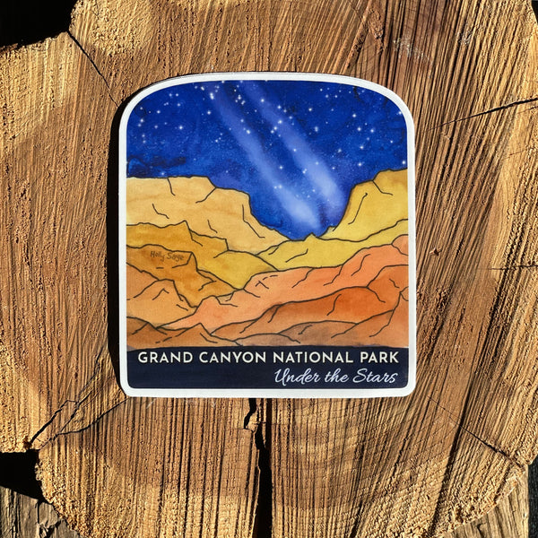 Grand Canyon Under the Stars Sticker