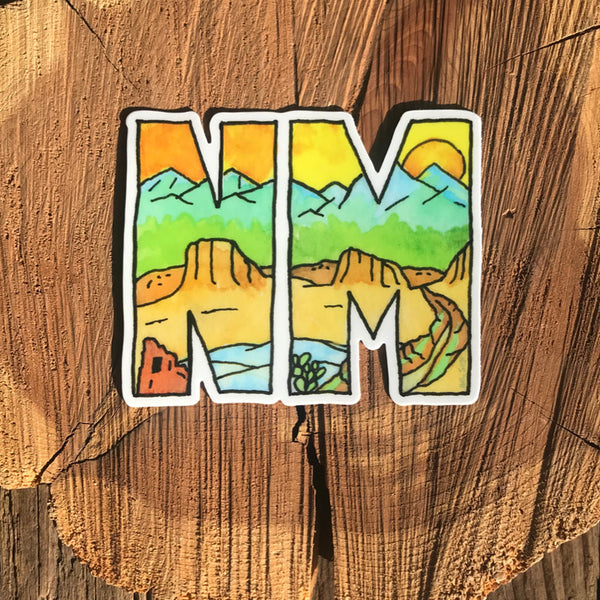 NM Abbreviation Sticker