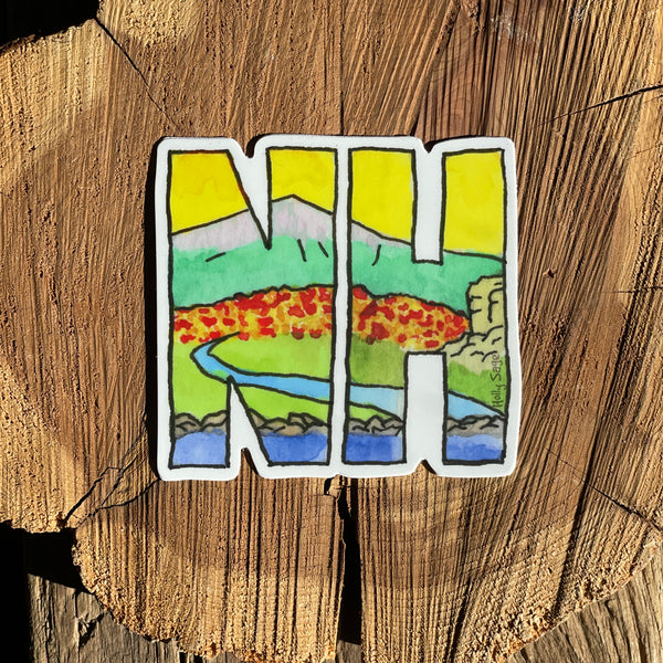 NH Abbreviation Sticker