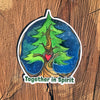 Together in Spirit winter tree sticker