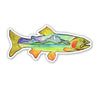 Cutthroat Catch Sticker