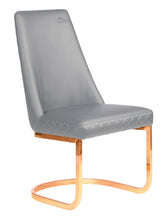 Rose Gold Customer Chair, Client Chair