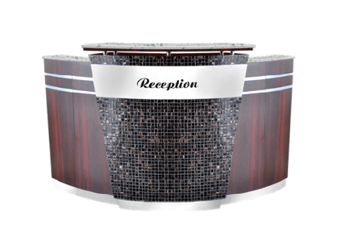 ACCASI Reception Counter- Cherry