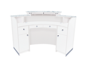 ACCASI Reception Counter- Gloss White
