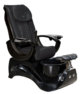 Black Pedicure Spa Chair