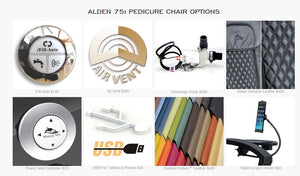 Alden 75i Pedicure Spa, New 2019 Upgrades, Best Seller, SALES ENDS JULY 31ST! BEST PRICE EVER!