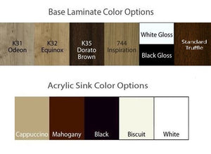 Chi Spa 2 Laminate Colors, Pedicure Base