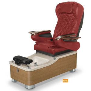 Chi Spa 2 Pedicure Chair-Burgundy
