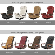 Gulfstream Chair Upholstery Colors for Pedicure Spas