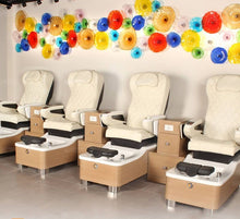 Chi Spa 2 Pedicure Chairs in Salon